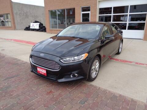 2013 Ford Fusion for sale at Rediger Automotive in Milford NE