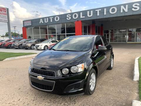 2016 Chevrolet Sonic for sale at Auto Solutions in Warr Acres OK