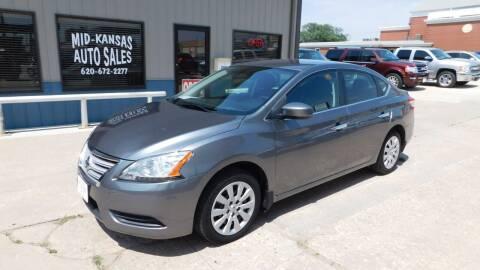 2015 Nissan Sentra for sale at Mid Kansas Auto Sales in Pratt KS