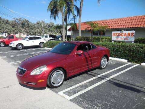 2006 Lexus SC 430 for sale at Uzdcarz Inc. in Pompano Beach FL