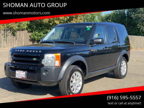 2006 Land Rover LR3 for sale at SHOMAN AUTO GROUP in Davis CA