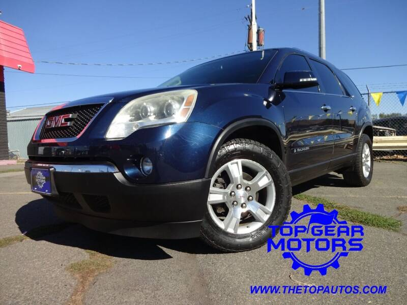 2007 GMC Acadia for sale at Top Gear Motors in Union Gap WA