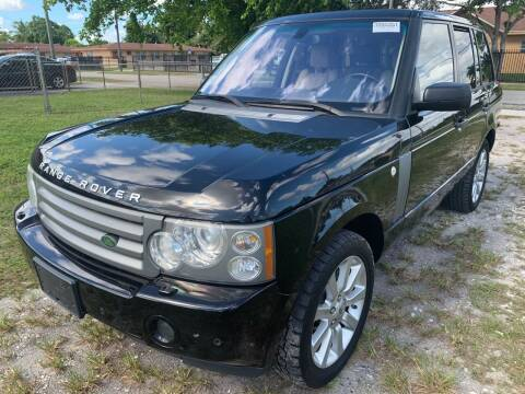 2009 Land Rover Range Rover for sale at Eden Cars Inc in Hollywood FL