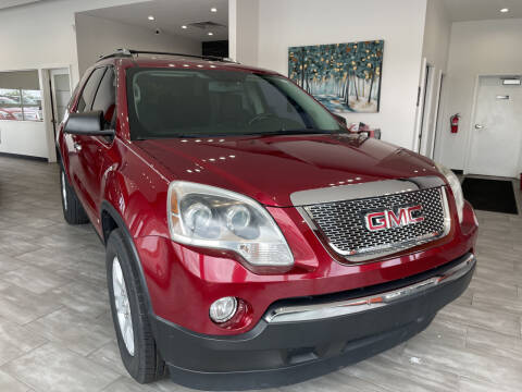 2009 GMC Acadia for sale at Evolution Autos in Whiteland IN
