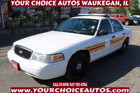 2011 Ford Crown Victoria for sale at Your Choice Autos - Waukegan in Waukegan IL