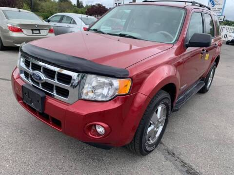 2008 Ford Escape for sale at RABI AUTO SALES LLC in Garden City ID