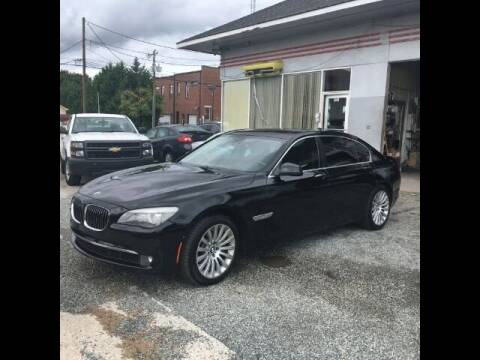 2012 BMW 7 Series for sale at Specialty Bank Liquidators in Greensboro NC