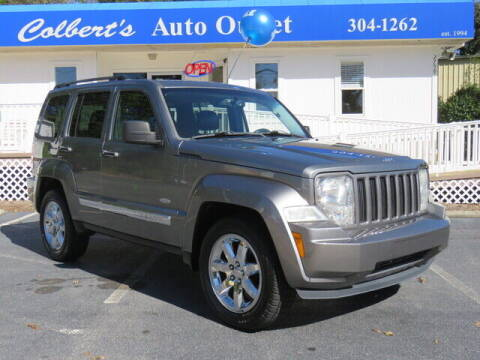 2012 Jeep Liberty for sale at Colbert's Auto Outlet in Hickory NC