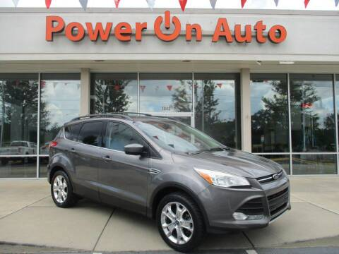 2013 Ford Escape for sale at Power On Auto LLC in Monroe NC