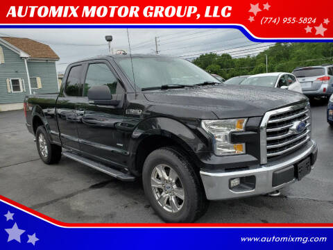 2015 Ford F-150 for sale at AUTOMIX MOTOR GROUP, LLC in Swansea MA