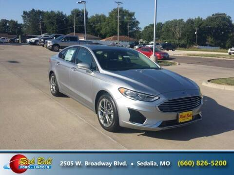 2020 Ford Fusion for sale at RICK BALL FORD in Sedalia MO
