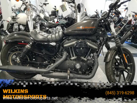 2019 Harley-Davidson Sportster Iron 883 for sale at WILKINS MOTORSPORTS in Brewster NY