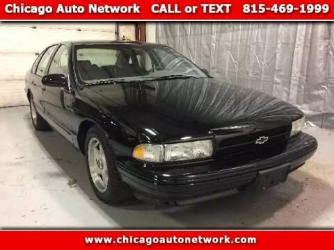 1996 Chevrolet Impala for sale at Chicago Auto Network in Mokena IL