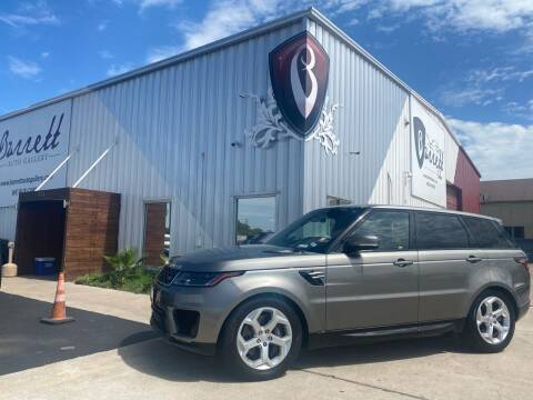 2018 Land Rover Range Rover Sport for sale at Barrett Auto Gallery in San Juan TX