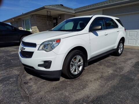 2013 Chevrolet Equinox for sale at CALDERONE CAR & TRUCK in Whiteland IN