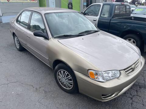 2002 Toyota Corolla for sale at American Dream Motors in Everett WA