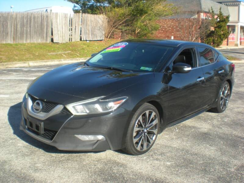 2016 Nissan Maxima for sale at 611 CAR CONNECTION in Hatboro PA