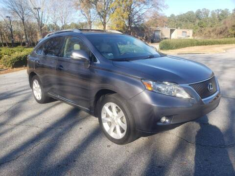 2012 Lexus RX 350 for sale at United Luxury Motors in Stone Mountain GA