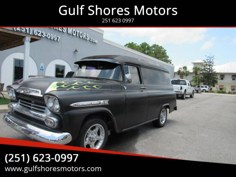 1959 Chevrolet Apache for sale at Gulf Shores Motors in Gulf Shores AL