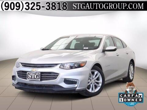 2018 Chevrolet Malibu for sale at STG Auto Group in Montclair CA