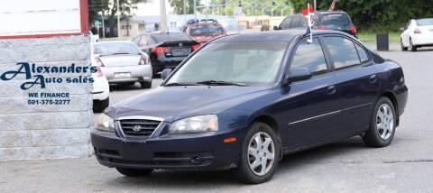 2005 Hyundai Elantra for sale at Alexander's Auto Sales in North Little Rock AR