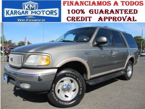 1999 Ford Expedition for sale at Kargar Motors of Manassas in Manassas VA