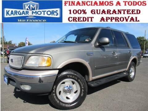 1999 Ford Expedition for sale at Kargar Motors of Manassas in Manassas VA