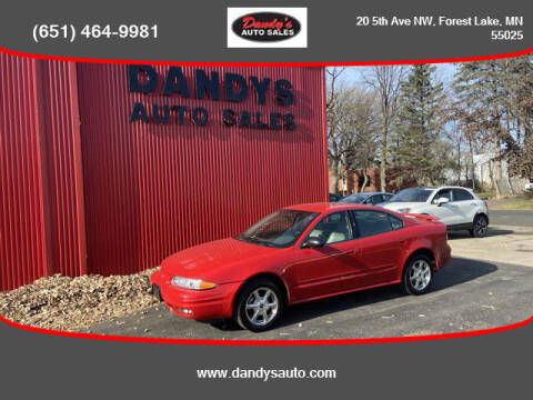 2004 Oldsmobile Alero for sale at Dandy's Auto Sales in Forest Lake MN