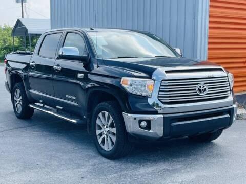2017 Toyota Tundra for sale at RUSTY WALLACE CADILLAC GMC KIA in Morristown TN