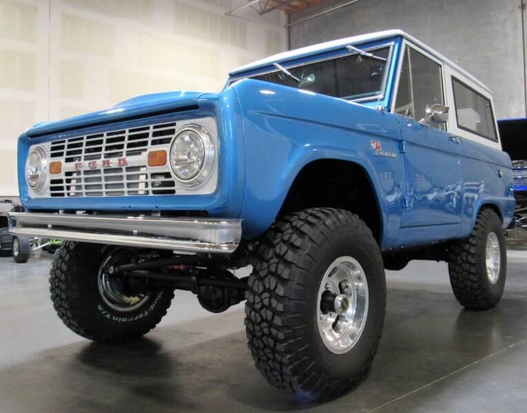 1968 Ford Bronco for sale at Platinum Motors in Portland OR