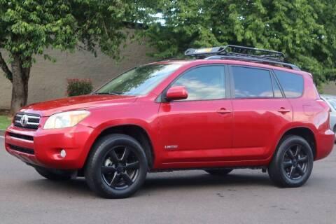 2006 Toyota RAV4 for sale at Beaverton Auto Wholesale LLC in Hillsboro OR