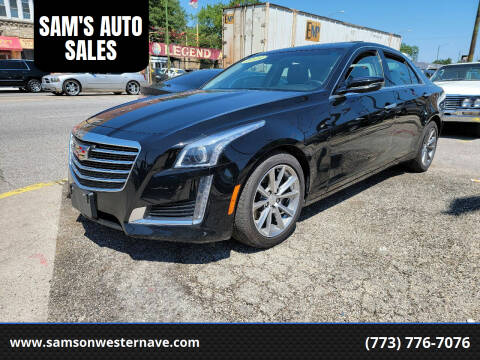 2019 Cadillac CTS for sale at SAM'S AUTO SALES in Chicago IL