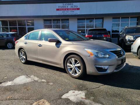 2014 Nissan Altima for sale at Landes Family Auto Sales in Attleboro MA