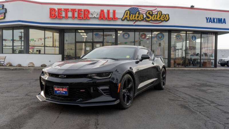 2016 Chevrolet Camaro for sale at Better All Auto Sales in Yakima WA