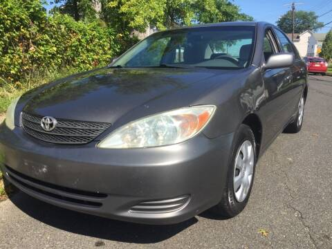 2004 Toyota Camry for sale at New Jersey Auto Wholesale Outlet in Union Beach NJ