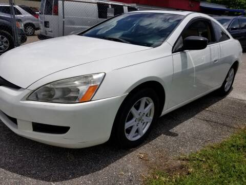 2003 Honda Accord for sale at Fantasy Motors Inc. in Orlando FL