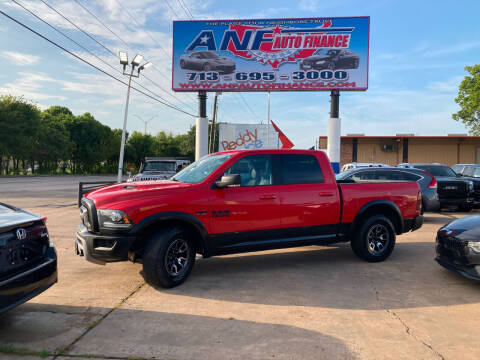 2018 RAM Ram Pickup 1500 for sale at ANF AUTO FINANCE in Houston TX
