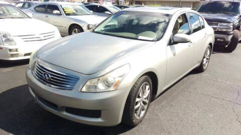 2008 Infiniti G35 for sale at Tony's Auto Sales in Jacksonville FL