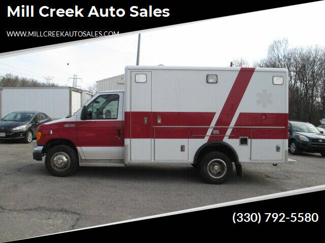 2007 Ford E-Series Chassis for sale at Mill Creek Auto Sales in Youngstown OH