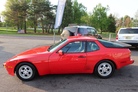 1987 Porsche 944 for sale at GEG Automotive in Gilbertsville PA
