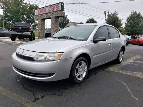 2004 Saturn Ion for sale at I-DEAL CARS in Camp Hill PA