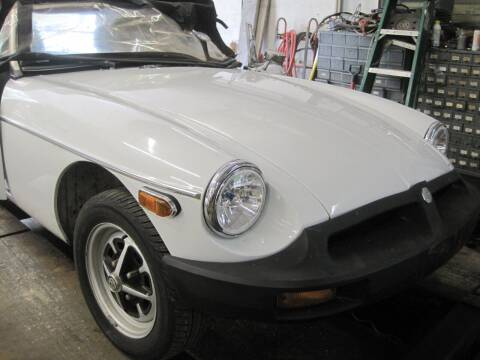 1976 MG MGB for sale at Zinks Automotive Sales and Service - Zinks Auto Sales and Service in Cranston RI