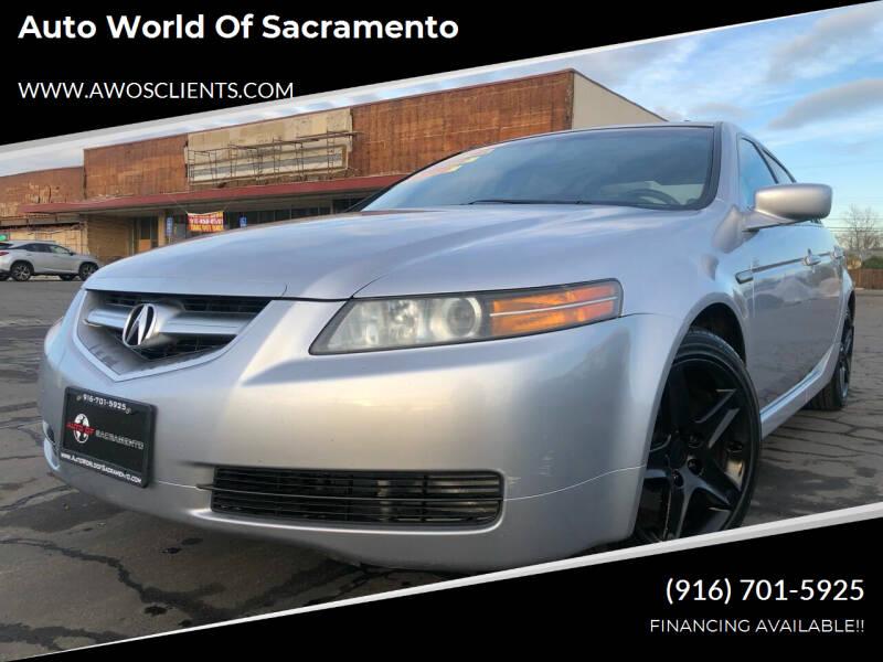 2005 Acura TL for sale at Auto World of Sacramento Stockton Blvd in Sacramento CA