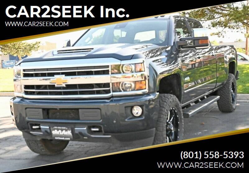 2018 Chevrolet Silverado 2500HD for sale at CAR2SEEK Inc. in Salt Lake City UT