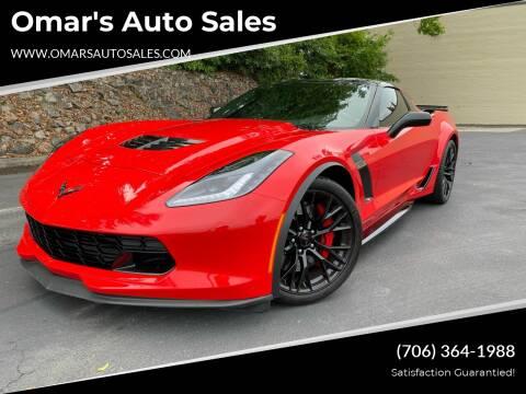 2018 Chevrolet Corvette for sale at Omar's Auto Sales in Martinez GA