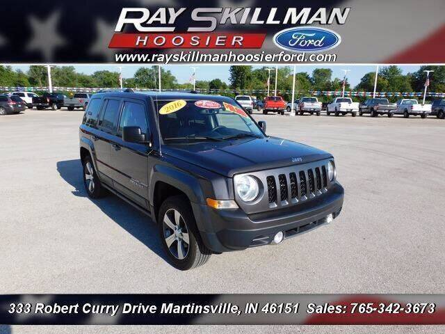 2016 Jeep Patriot for sale at Ray Skillman Hoosier Ford in Martinsville IN