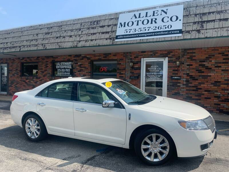 2012 Lincoln MKZ for sale at Allen Motor Company in Eldon MO