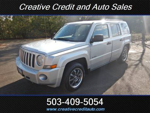 2008 Jeep Patriot for sale at Creative Credit & Auto Sales in Salem OR