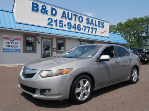 2010 Acura TSX for sale at B & D Auto Sales Inc. in Fairless Hills PA
