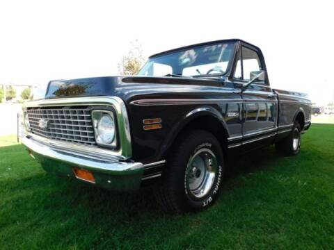 1971 Chevrolet C/K 10 Series for sale at Haggle Me Classics in Hobart IN